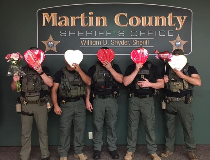 "A Florida sheriff's office used the Valentines Holiday to have a little fun with individuals wanted for arrest, saying ""Valentine's Day is the perfect day to turn yourself in.""