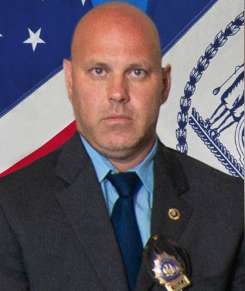 Detective Brian Simonsen of the NYPD was shot and killed Tuesday responding to a robbery in Queens. (Photo: NYPD)  -