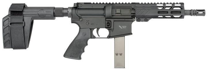 Rock River Arms' new LAR-9 Pistols with SB Tactical Braces come in 7-inch and 10.5-inch models.