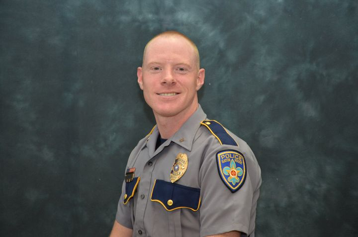 According to WBRZ-TV, 31-year-old Officer Shane Totty was escorting a funeral procession when a pick-up truck pulled in front of his motorcycle, striking him.