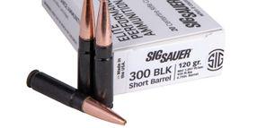 SIG Sauer Introduces Supersonic 300BLK SBR Elite Copper Duty Ammo