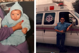 California Officer Learns his Supervisor Delivered him as a Baby
