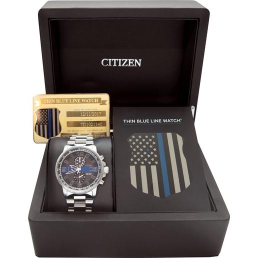 Citizen Watch's new Thin Blue Line collection timepiece  - Photo: Citizen Watch