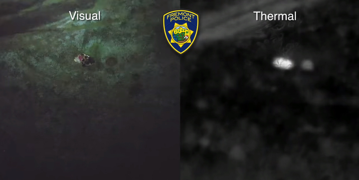 The Fremont (CA) Police Department released video in late February showing how an unmanned aerial vehicle (UAV) equipped with a thermal imaging camera helped to locate a child missing from a local school for the deaf.