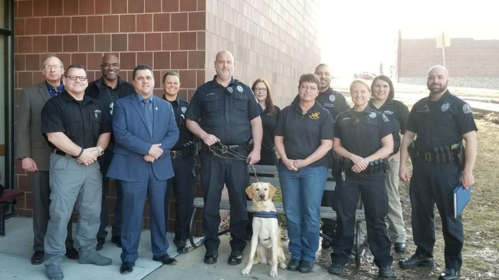 "The department said on Facebook, ""Our therapy dog's purpose is to help improve the psychological well-being of our employees at the police department. The therapy dog will be assigned to our Peer Support Team and will reside with one of the team's members.""