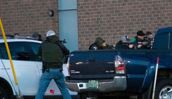 Officers from Manchester PD, DEA, New Hampshire State Police, and Nashua Police Department responded to the 15-hour standoff that ended with one gunman and two other subjects dead.
