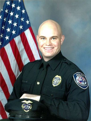 Officer Nathan Heidelberg was shot and killed responding to a burglary call.