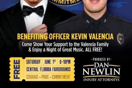 Rapper Pitbull to Hold Benefit Concert for Wounded Florida Officer