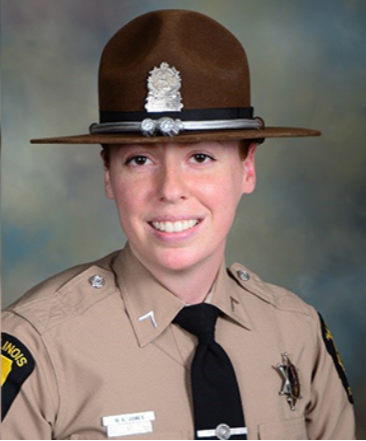 Illinois State Trooper Brooke Jones-Story was fatally struck on U.S. Highway 20 near Illinois Route 75.