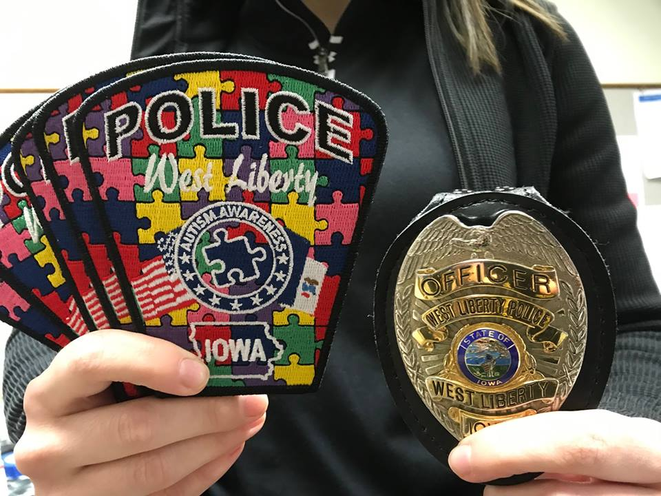 Iowa Department Selling Special-Edition Patches to Raise Awareness of Autism