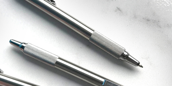 Zebra's Steel F-701 Ballpoint Retractable Pen
