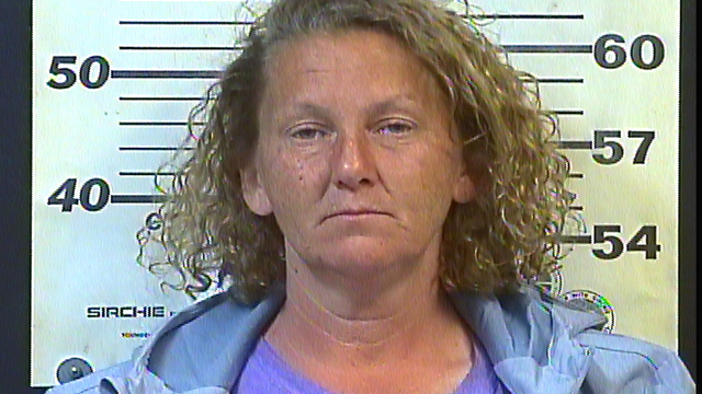 Sally Selby was arrested by Crossville, TN, police officers last week after a slow-speed pursuit involving an electric shopping cart. (Photo: Cumberland County SO)