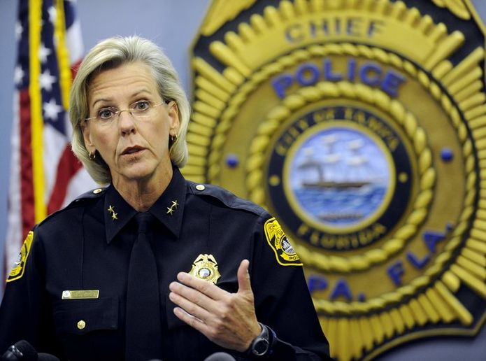 Tampa new mayor Jane Castor served as the city's police chief for six years. (Photo: Jane Castor for Mayor)