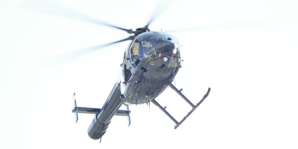 "The agency said on Facebook, ""The helicopter was being flown by a 10-year veteran pilot and his..."