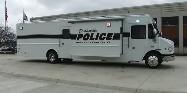 The Clarksville (TN) Police Department acquired a new mobile command center vehicle (MCV) this...
