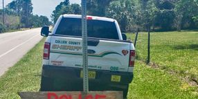 Florida Speed Trap Foiled by Handmade Sign Alerting Drivers