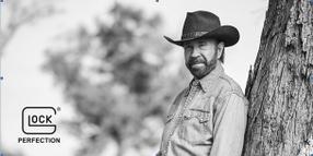 Glock Signs Chuck Norris as Spokesperson