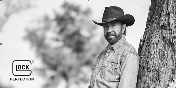 Glock Signs Chuck Norris as Spokesperson