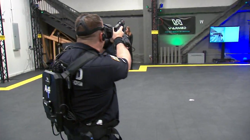 NYPD Testing Virtual Reality-Based Training