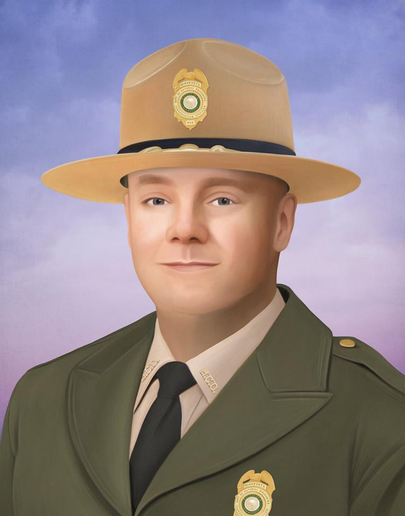 Philadelphia Officer Paints Portrait of Fallen MN Conservation Officer
