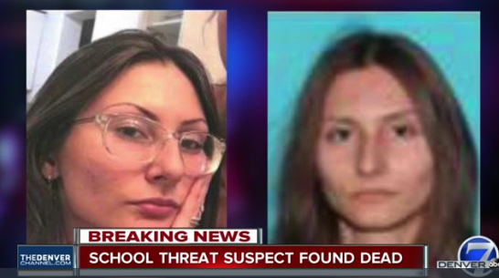 """A Florida woman that the FBI said presented a """"credible threat"""" to Columbine High School was found dead Wednesday of apparent suicide. Sol Pais, 18, was reportedly obsessed with the Columbine Massacre. (Photo: Denver Channel screen shot)  -"""