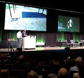Unveiled recently at the 2019 Smart Cities Connect Conference & Expo, the new streaming solution from Triangle UAS, is made to offer first responders a cost-effective, easy-to-use method of providing real-time video streaming from an aerial drone to remote operators or an emergency operations center via a secure Internet connection.  - Photo: Triangle UAS