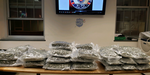 An officer with the Westchester County (NY) Police Department discovered a large haul of...