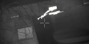 Video: Winnipeg Police Helicopter Crew Help Nab Suspect Trying to Hide Weapons