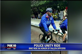 Photojournalist Rides in Police Unity Tour to Honor Fallen Arizona Officer