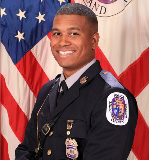 Officer Davon McKenzie of the Prince George's County (MD) Police Department was killed in an off-duty motorcycle crash.