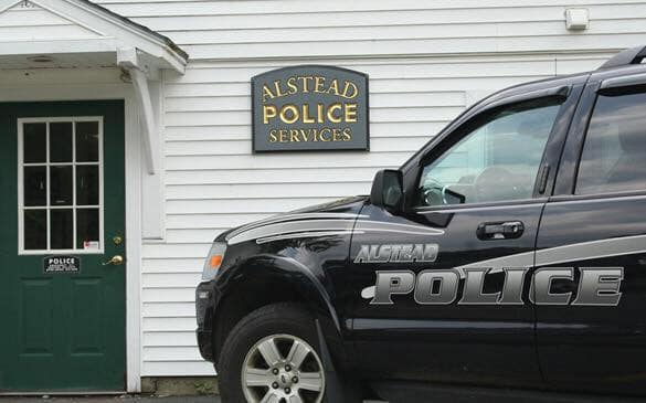 Chief Stephen Murrell has been leading both the Alstead and Langdon police departments since early May.  - Image courtesy of Alstead PD / Facebook.