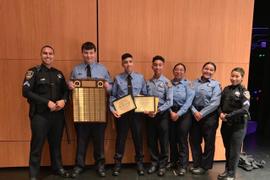 California Department Honors Graduating Police Explorers