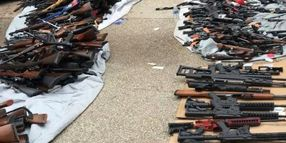 LAPD, ATF Seize More Than 1,000 Firearms at Upscale Home