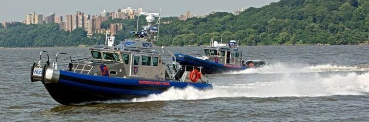Officers from the marine unit for the Westchester County Police Department rescued a man over the weekend who had fallen off a jet ski and was left floating in the Hudson River for 45 minutes.