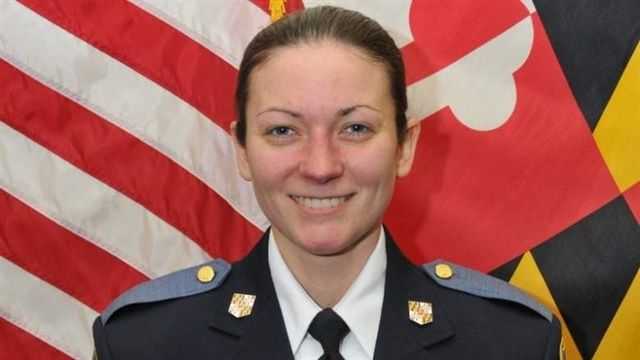 Officer Amy Caprio  - Photo: Baltimore County (MD) Police Department