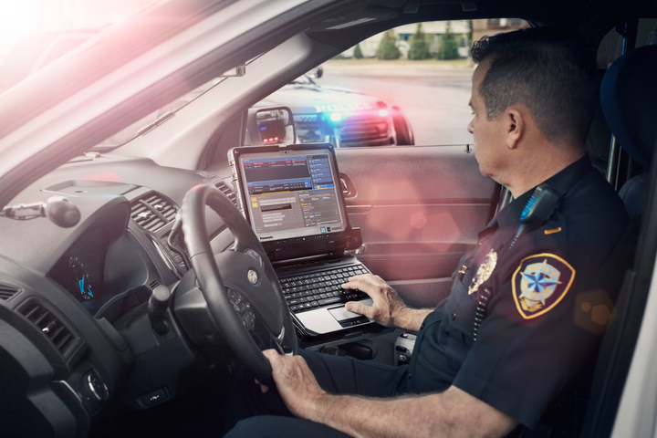 Scott Landau and Jack Marks of Panasonic will take part in an IACP Technology Conference panel discussion about the ways technology is being used to promote officer safety.  - Photo: Panasonic