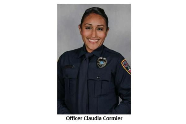 San Marcos, TX, police officer Claudia Cormier lost her leg when she was struck by a vehicle Saturday night. Police say the vehicle was driven by a suspected drunk driver. (Photo: San Marcos PD)