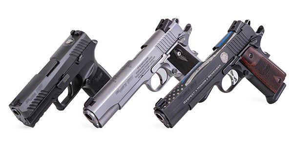 The SIG Sauer NLEOMF Commemorative pistols will be distributed exclusively through Kroll international and be available through June 1, 2020.  - Photo: SIG Sauer