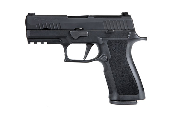 The Lloyd Harbor (NY) Police Department has adopted the SIG Sauer P320 9mm pistol as its official duty pistol.  - Photo: SIG Sauer