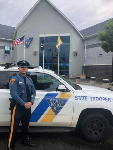 New Jersey StateTrooper Piotr Augustyn.  - Image courtesy ofNew Jersey State Police.