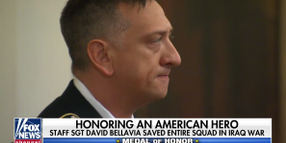 Trump Presents Medal of Honor to Army Vet Who Rescued Entire Squad in Iraq