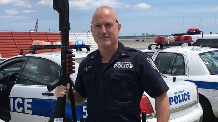 Officer William James Leahy died of cancer he developed after assisting in 9/11 recovery efforts.  - Photo: Port Authority of New York and New Jersey Police Department