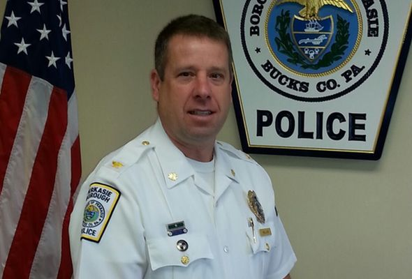 Police Chief Steven Hillias of the Perkasie Borough Police Department died suddenly on Sunday. The Lehigh Valley Coroner's office said Hillias died of natural causes.