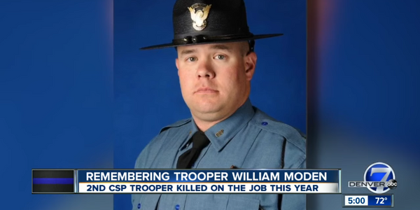 Colorado Trooper Struck and Killed Working Rollover Crash