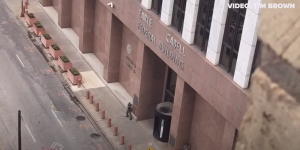 Video: Active Shooter Killed by Federal Officers Outside Dallas Courthouse