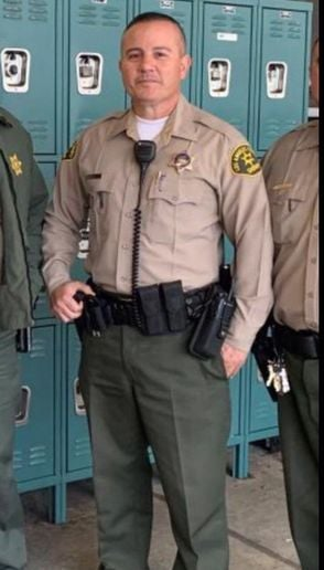 Dep. Joseph Solano was shot off duty while waiting for his meal at a fast food restaurant.  - Photo: Los Angeles Sheriff's Department
