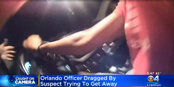 Video: Florida Officer Dragged by Vehicle at 60 MPH
