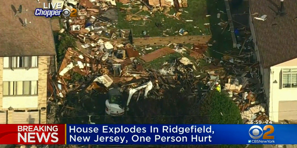 Off-Duty Officer Saves Man from Massive Home Explosion