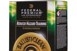Federal Premium LE Offers BallistiClean Frangible Slug, Buckshot