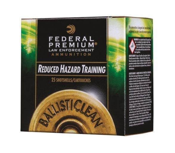 Federal Premium Law Enforcement's new BallistiClean frangible slug and buckshot loads are now available.  - Photo: Federal Premium Law Enforcement